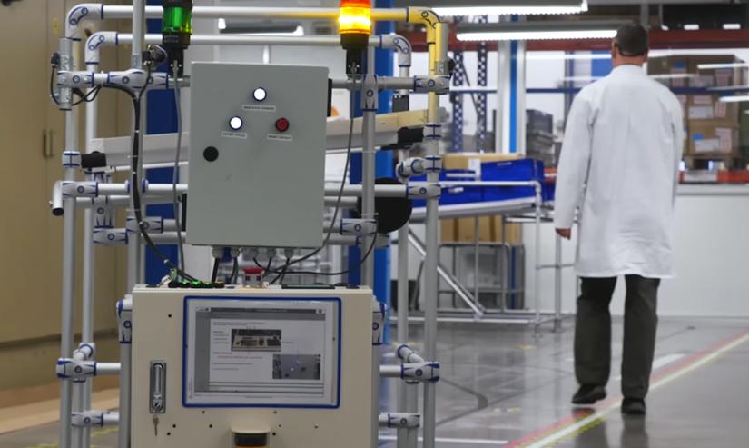 Systemy produkcyjne stają się INTELIGENTNE wraz z wprowadzeniem rozwiązań AGV